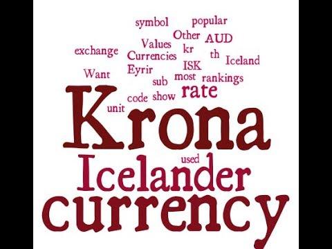 Icelander Currency Krona Youtube