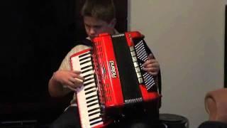 Lustig is das Ziguener Leben - Matheus mit akkordeon