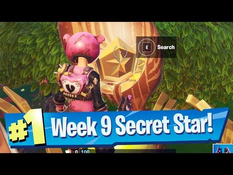 Fortnite Season 10 Week 9 Secret Battle Pass Star Location (Ready Or Not Challenges)