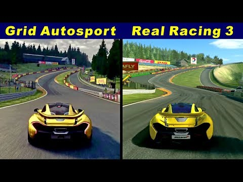 Grid Autosport IOS Vs Real Racing 3 @ Spa-Francorchamps
