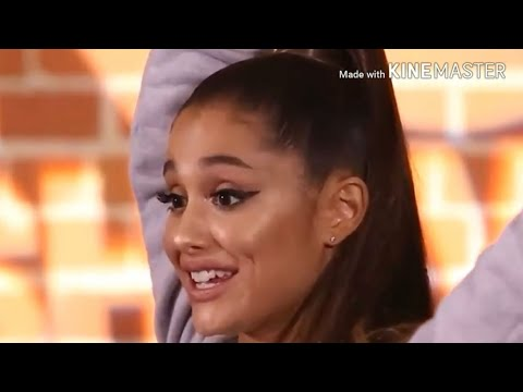 Ariana Grande being hight in one interview 😳