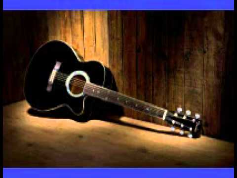Slow Acoustic Blues Jam Track - Key of A (acoustic rhythm guitar and drum track)