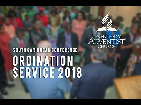 South Caribbean Conference Ordination Service 2018