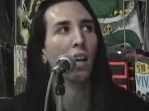 MARILYN MANSON - Live at YESTERDAY & TODAY RECORDS - Miami - 1991 (Acoustic Show)