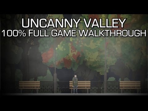 Uncanny Valley - 100% Full Game Walkthrough - Achievements/Trophies & Collectibles