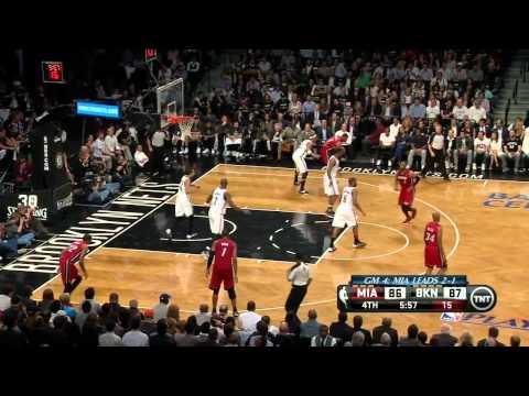 Miami Heat vs Brooklyn Nets - Game 4 Highlights - NBA Playoffs 2014