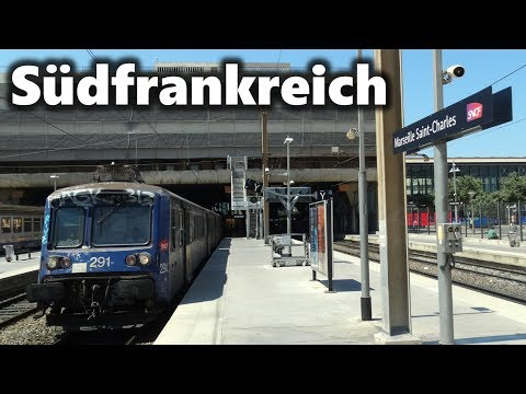 Marseille, Montpellier und mehr - Zugverkehr in Südfrankreich