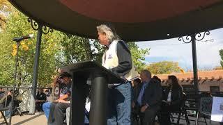 Indigenous Peoples Day Celebration 2017 George Rivera - Pueblo Of Pojoaque  & Santa Fe