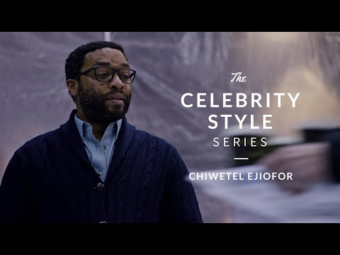 Chiwetel Ejiofor from The Martian - Celebrity Style Series w/ Real Men Real Style