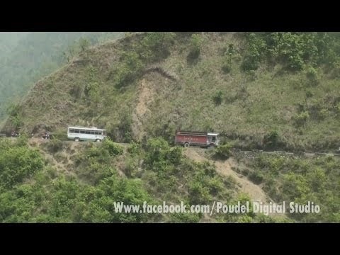 Beautyfull Nature And Amazing Road in Nepal // Palpa To Butwal