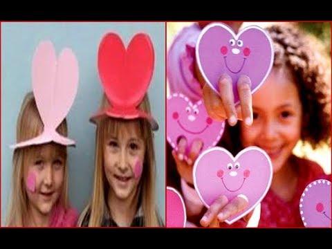 Mejores 100 Manualidades Para Dia Del Amor Con Los Ninos En La Iglesia Preescolares Youtube