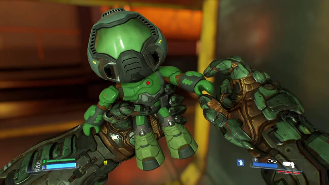 Official Doom Guy Bobbleheads Doom