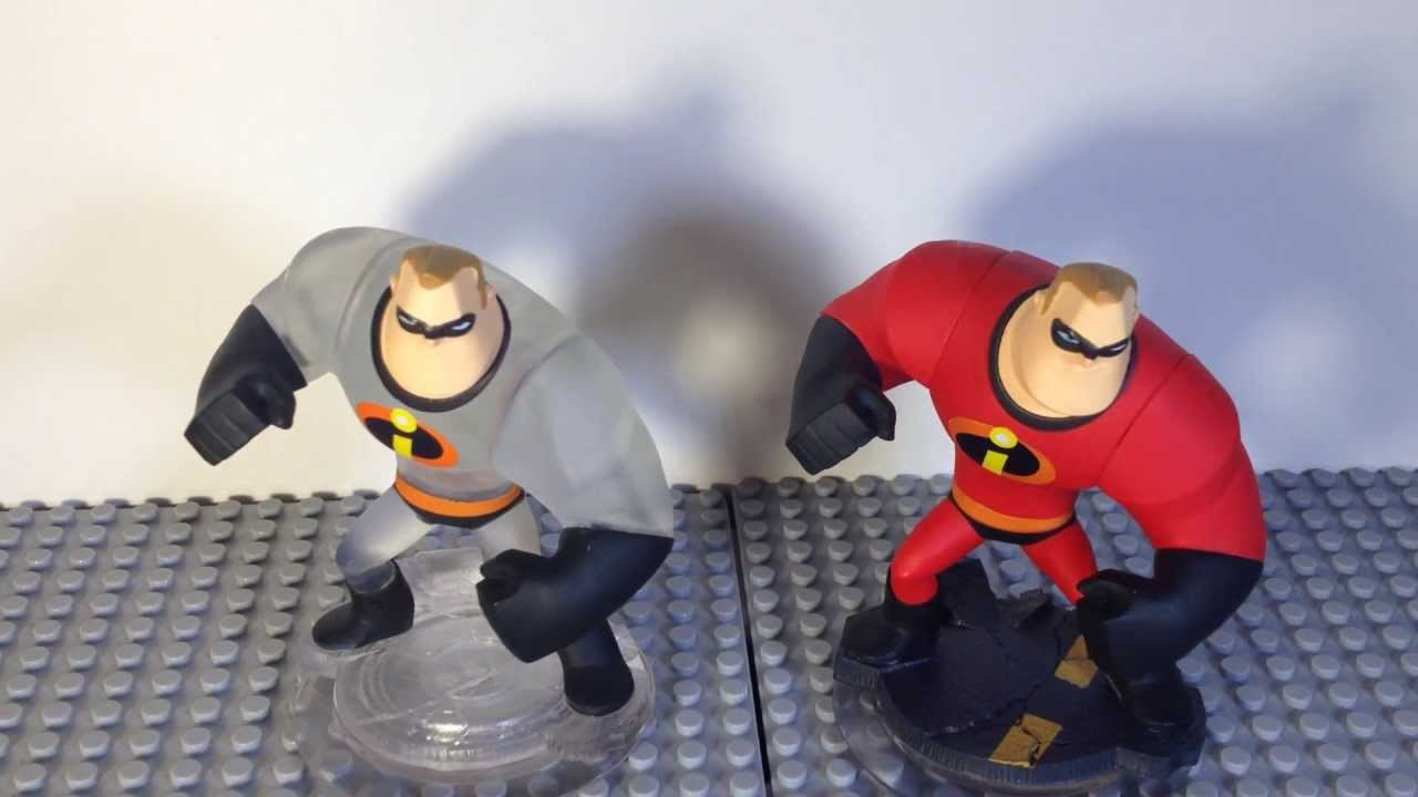Disney Infinity Crystal Mr. Incredible Review - YouTube