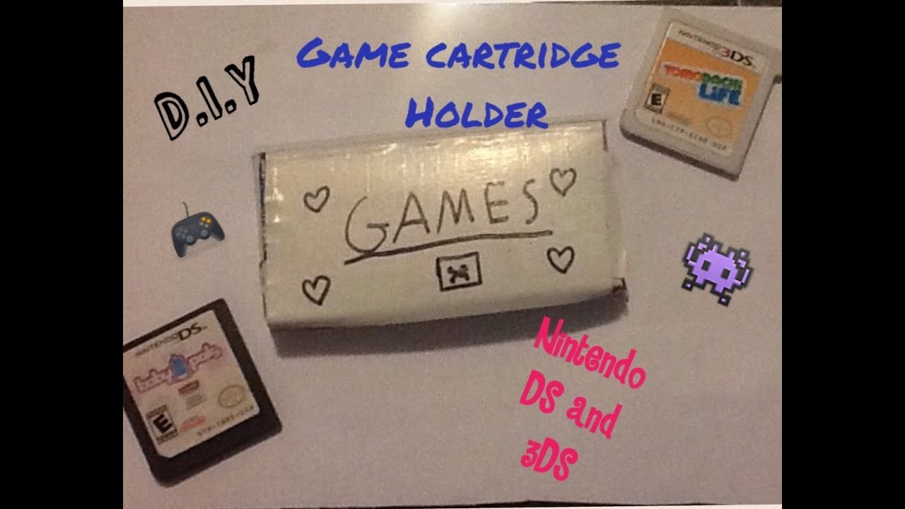 how to make a ds case