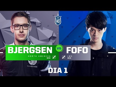 Bjergsen x FoFo (All-Star 2017 - 1x1)