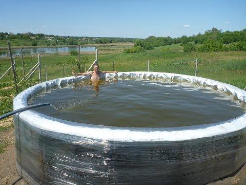 Бассейн (емкость для воды) на 12 кубов за 100 долларов. Часть 1