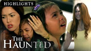 Monica fumes with rage when Angel realized the result of her devious plan | The Haunted