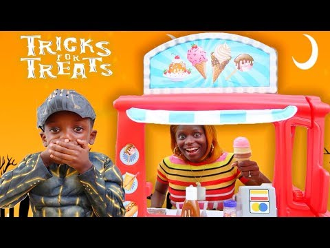 Super Siah Playing Tricks For Treats Youtube