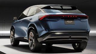 New Nissan Ariya Electric SUV Concept Introduce