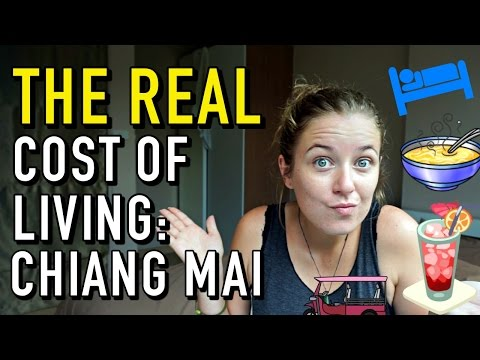 THE REAL COST OF LIVING IN CHIANG MAI, THAILAND
