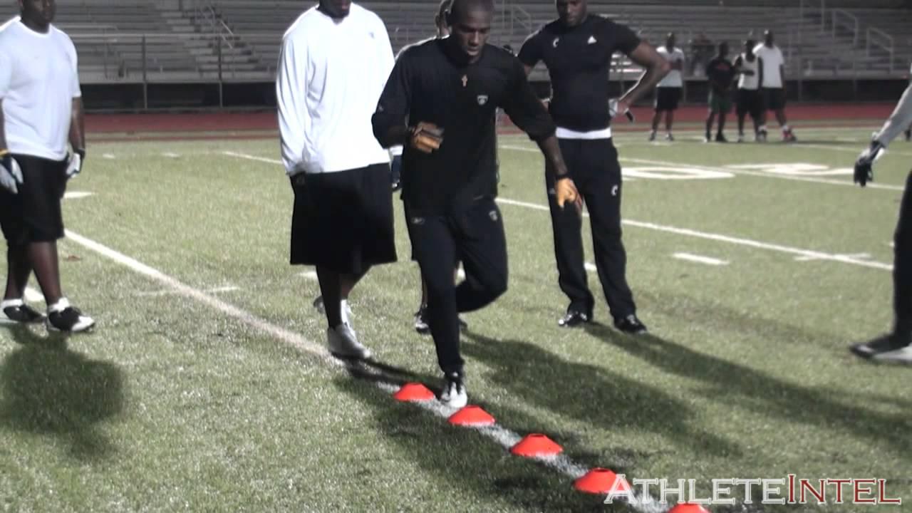 Antonio Brown Offseason Workout - AthleteIntel - YouTube