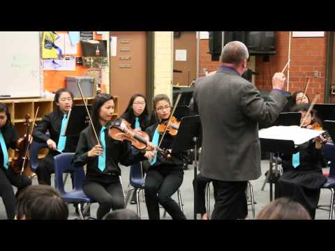 San Gabriel Christian School Senior Strings - SCSBOA Performance- Judge Feedback