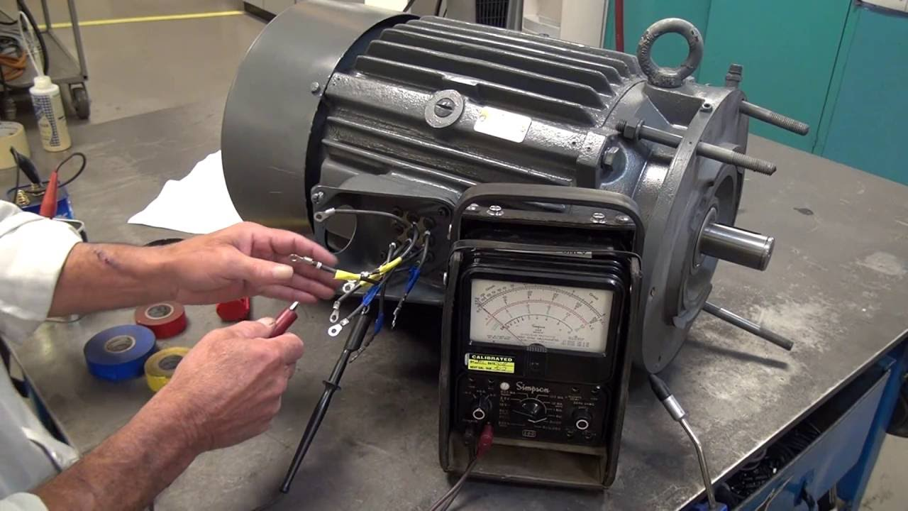 Identifying Unmarked 9 Lead Motors  Delta Connection  York Repair Inc  YouTube