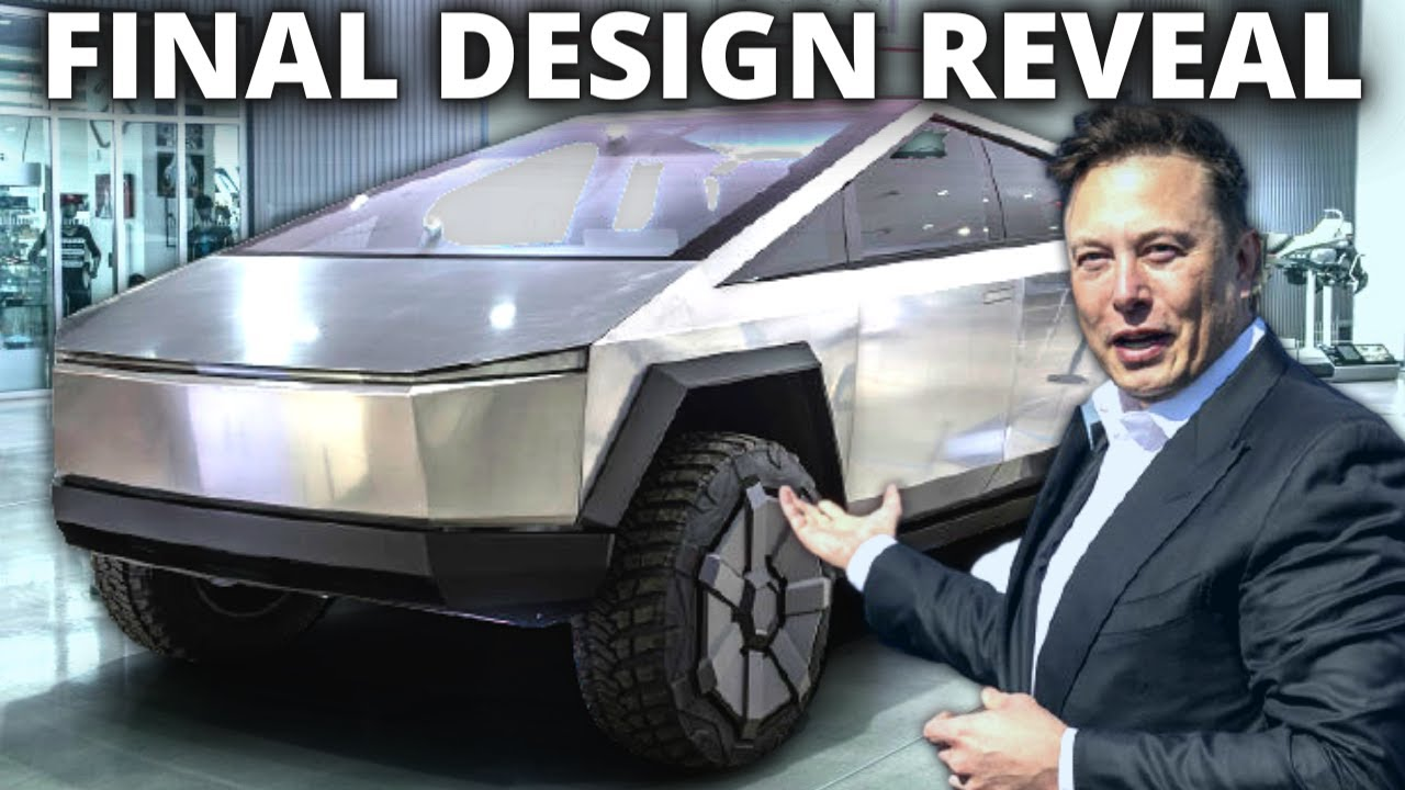 Tesla Cybertruck 2021: Revealing the Final Design Look