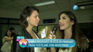 ¡Camila Rodrigues por segunda vez en Paraguay!