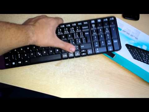 k230 Logitech wireless keyboard review