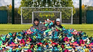 $100,000 BOOT COLLECTION | F2FREESTYLERS FULL COLLECTION REVEALED 🔥😱 | Billy Wingrove & Jeremy Lynch