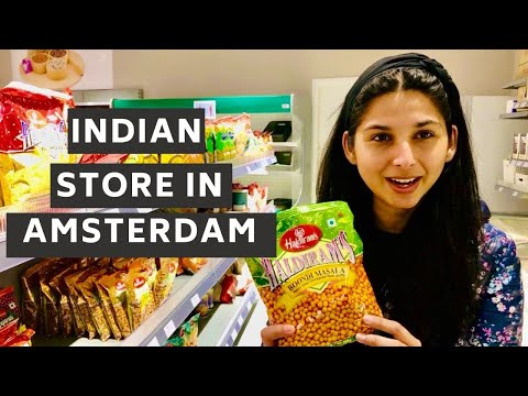 Indian Grocery Shop In Amsterdam During Lockdown Corona Time | Hindi Vlog | Desi Couple on The Go