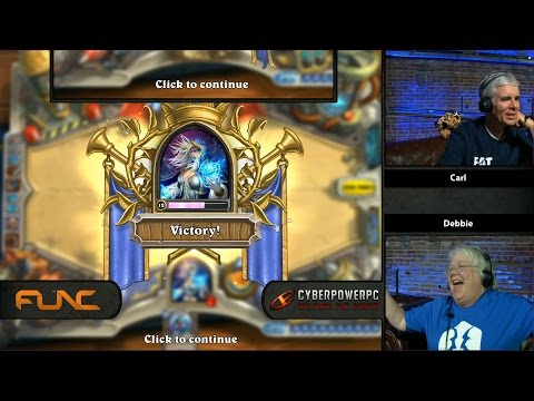 Old People Play Hearthstone Ep. 1
