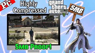 how to download gta 5 highly compressed for pc with setup proof 10000% fully working