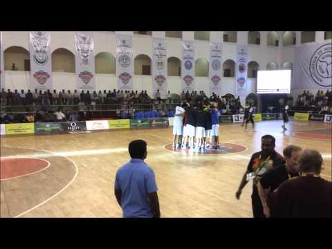 Punjab University Basketball Team pregame huddle - YouTube