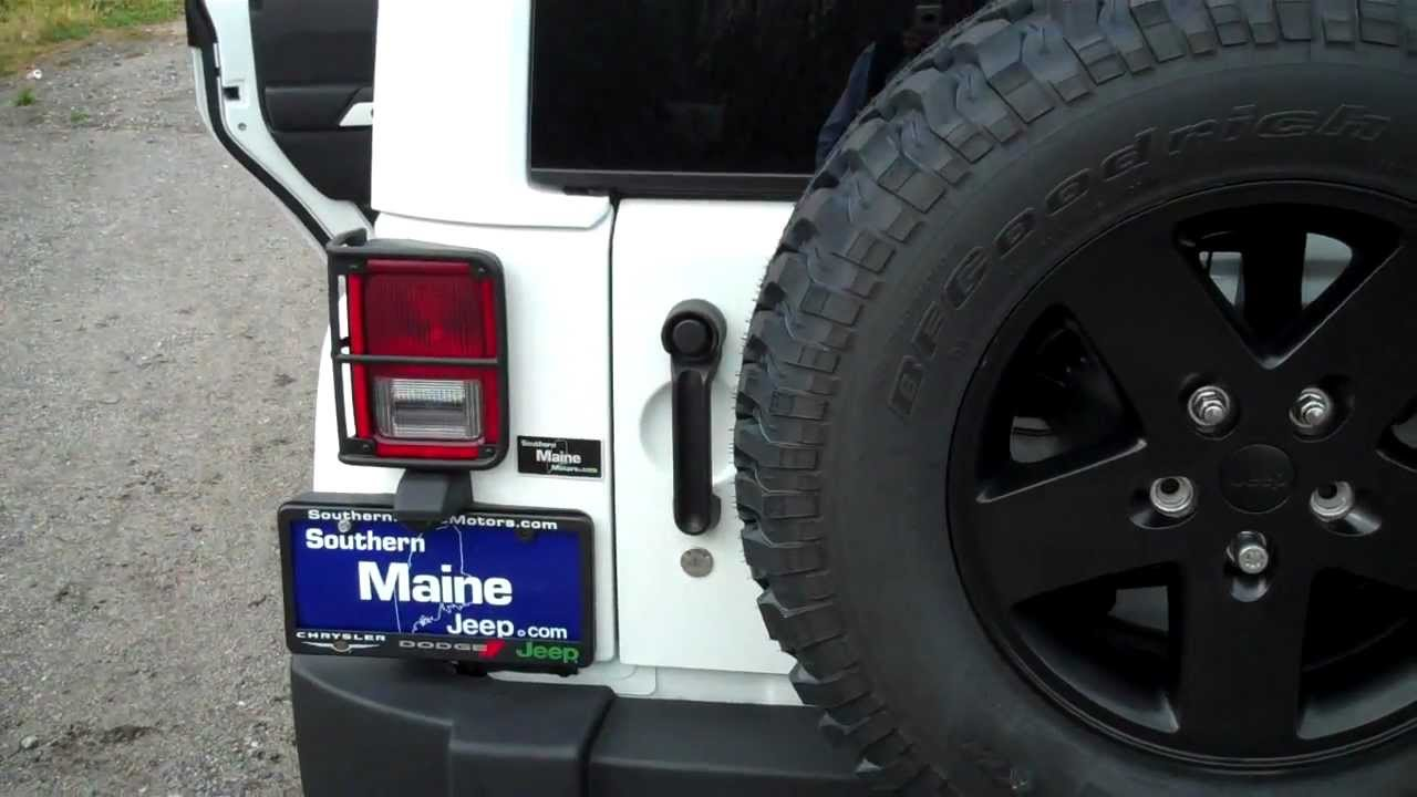 Maine jeep dealers 2012 jeep wrangler unlimited arctic for Southern maine motors saco maine