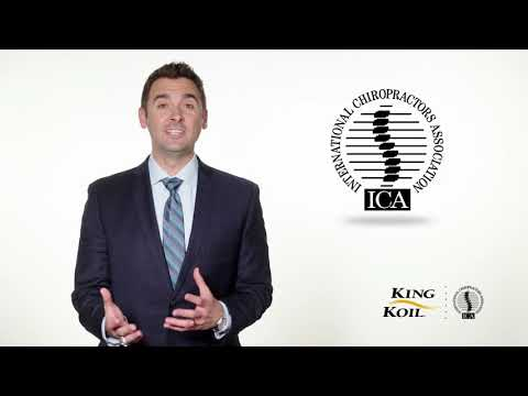 Introducing the King Koil & the International Chiropractors Association (ICA) Sleep Ambassador