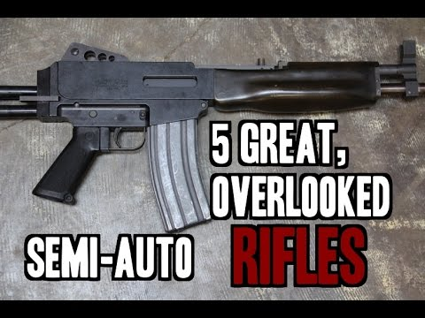 5 Great, but Overlooked, Semi Automatic Rifles