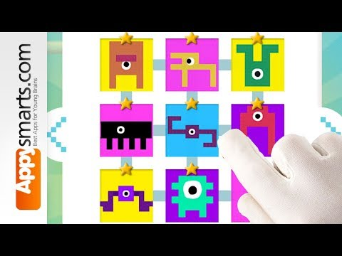 Fun Educational Math Puzzles for Preschoolers: Microbes [iPhone,iPad,Android]