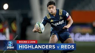 HIGHLIGHTS: 2019 Super Rugby Round 2 Highlanders v Reds
