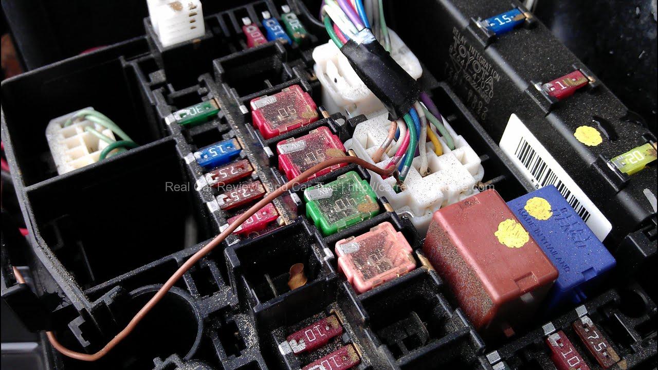 94 Toyota Camry Am2 Fuse Box Diagram Worksheet And Wiring 1998 Youtube Rh Com 2000 Solara