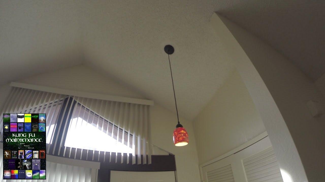 how to install pendant lighting. pendant light install loose socket diy repair video how to lighting e