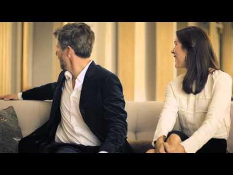 Interview med Kronprinsparret i forbindelse med Kronprinsparrets Priser 2013