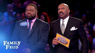 See Roger's fantastic Fast Money! | Family Feud