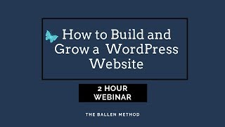 Zapętlaj Beginners Guide to WordPress 2019 | Lori Ballen 2019 | Lori Ballen
