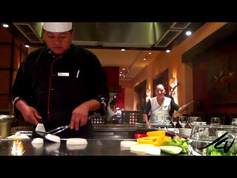 Kyoto Japanese Restaurant -  Barceló Maya Beach, Riviera Maya Mexico  - YouTube