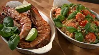 Marco Pierre White recipe for Prawn Cous Cous
