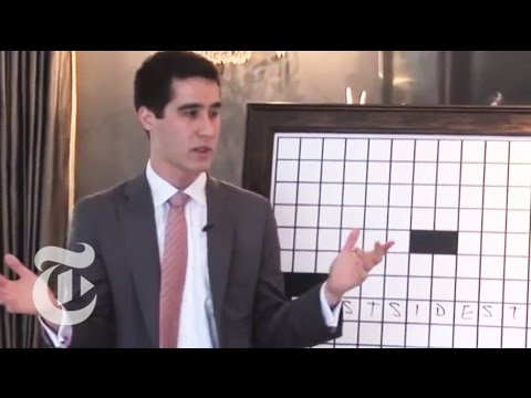 Science: The Magician and the Crossword   The New York Times