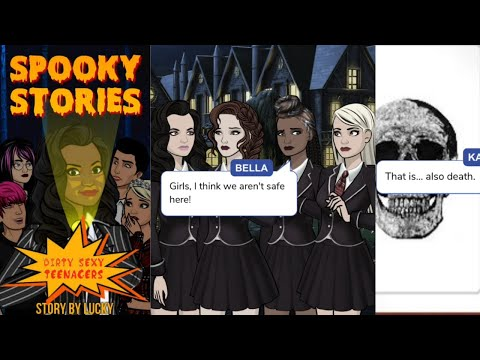 Dirty Sassy Teenagers - Spooky Stories
