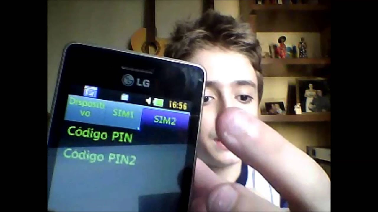 como descobrir o pin do meu celular vivo